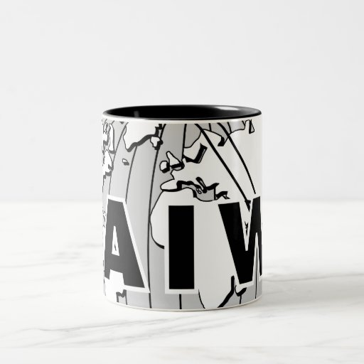 AIW Logo Wrap-Around Two-Tone Mug