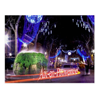 Aix in Provence Postcard