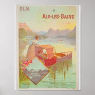 Aix Les Bains France Poster