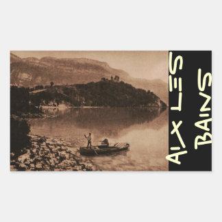 AIX-LES-BAINS - Lac de Bourget Rectangular Sticker