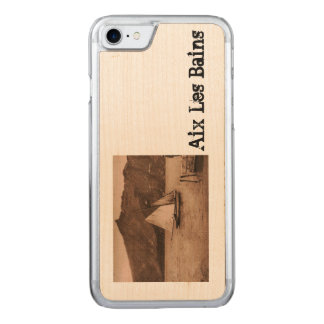 AIX-LES-BAINS - Lake Bourget - sailing boat Carved iPhone 7 Case