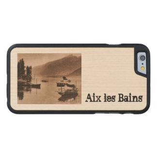 AIX-LES-BAINS - Le Lac du Bourget Funda De iPhone 6 Carved® Slim De Arce