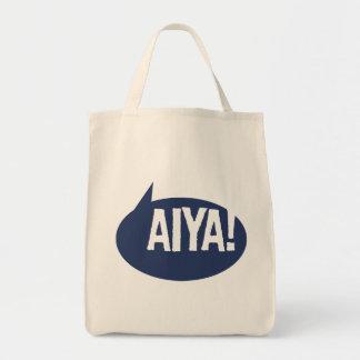 ¡Aiya! Bolsa Tela Para La Compra