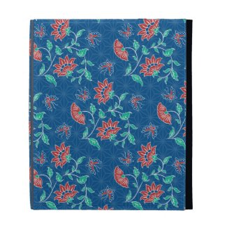 Aiyana Floral Batik iPad Folio iPad Cases