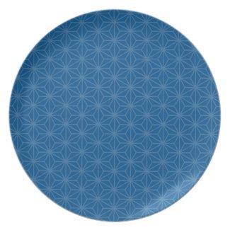 Aiyana Floral Batik Pattern Plate