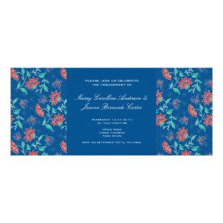 Aiyana Floral Batik Wedding Engagement Invite 3