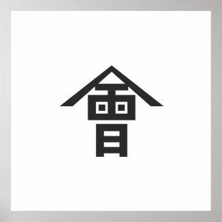 Aizu domain, Japan Poster