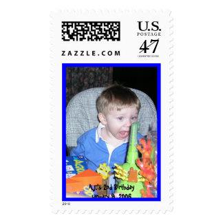 AJ2ndBirthday10906 039, A.J. 2do BirthdayJanu… Timbres Postales