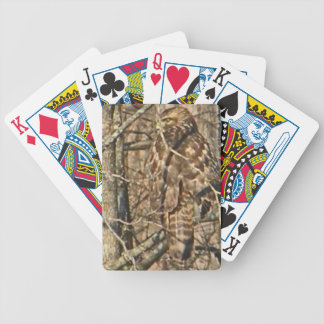 AJ- Awesome Hawk Nature Photography Playing Cards