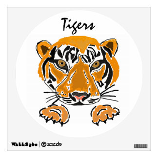 AJ- Awesome Leaping Tiger Wall Decal