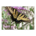 AJ- Butterfly Art Thank you Card