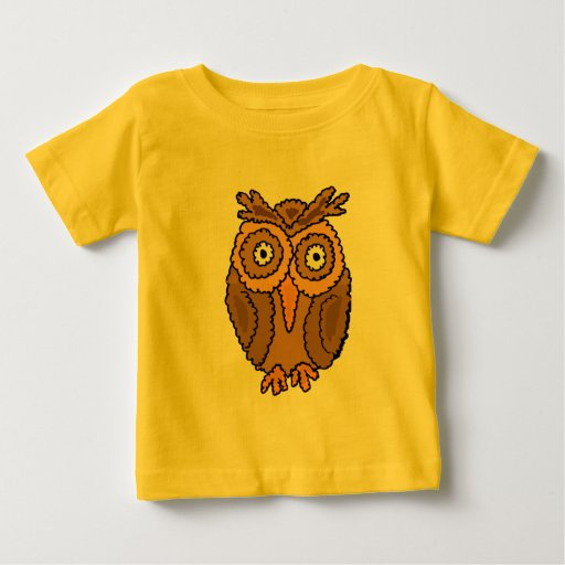 AJ- Funny Owl Baby Outfit Baby T-Shirt