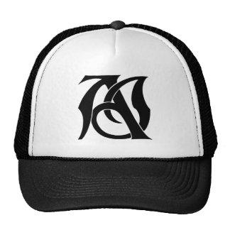AJ Monogram Trucker Hat