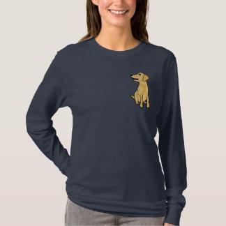 AJ- Yellow Labrador Puppy Dog Shirt