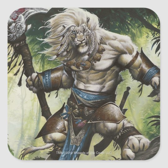 Ajani Vengeant Square Sticker