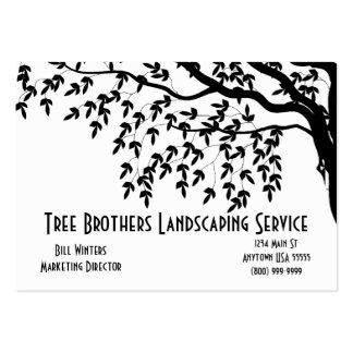 Ajardinar la tarjeta de visita de servicios