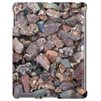 Ajardinar los escombros y las piedras de la roca funda para iPad