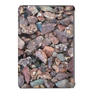 Ajardinar los escombros y las piedras de la roca funda para iPad mini retina