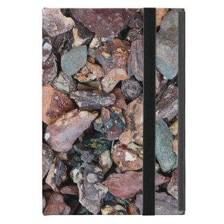 Ajardinar los escombros y las piedras de la roca iPad mini fundas
