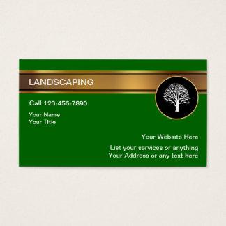 Ajardinar tarjetas de visita
