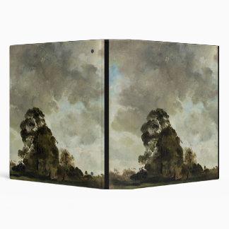 Ajardine en las nubes de Hampstead, del árbol y de