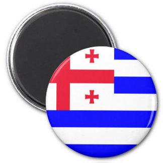 Ajaria Flag 2 Inch Round Magnet