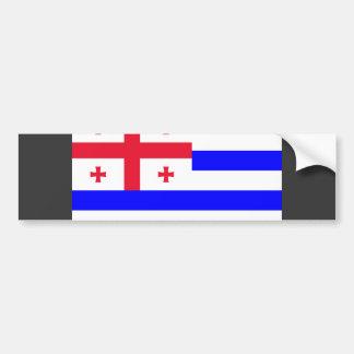 Ajaria Flag Bumper Sticker