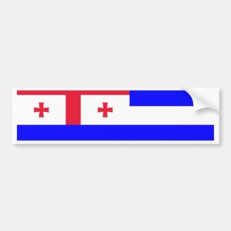 Ajaria Flag Bumper Stickers