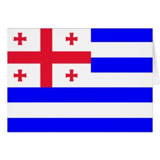 Ajaria Flag Card