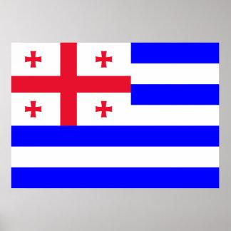 Ajaria Flag Poster