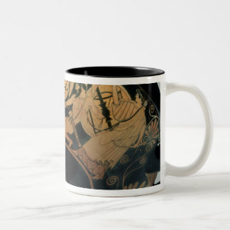 Ajax, urged on by Athena Two-Tone Coffee Mug