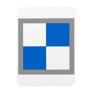 ajedrez 3D (tablero del juego del refrigerador 2x2 Imán Flexible