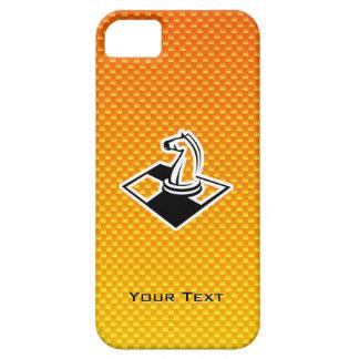 Ajedrez amarillo-naranja iPhone 5 funda