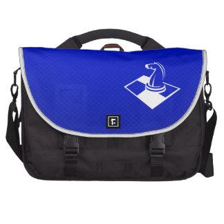 Ajedrez azul bolsa para ordenador