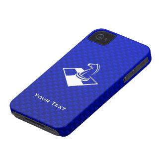 Ajedrez azul iPhone 4 protector