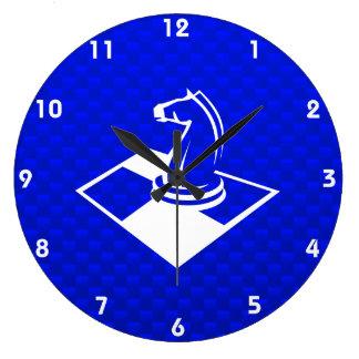 Ajedrez azul relojes