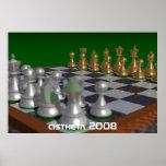 ajedrez, cistheta 2008 impresiones