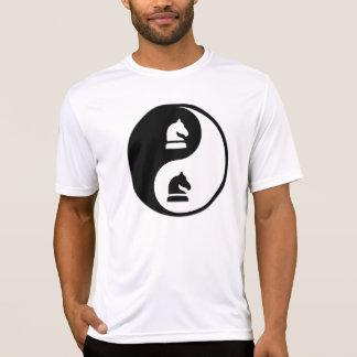 Ajedrez de Yin Yang Camiseta