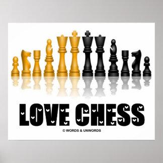 Ajedrez del amor (ajedrez reflexivo Atittude del j Impresiones