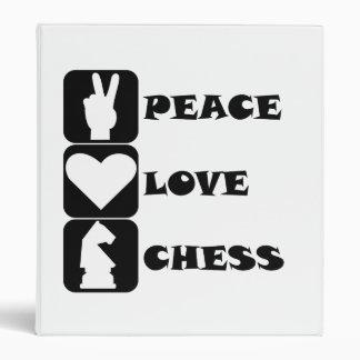 Ajedrez del amor de la paz