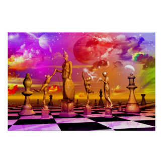 Ajedrez del arte del ajedrez el mejor impresiones