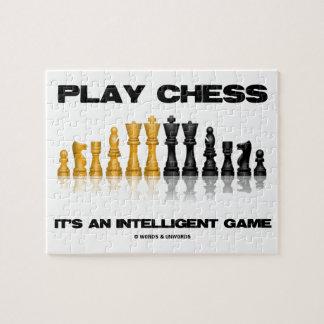Ajedrez del juego es un juego de ajedrez rompecabezas