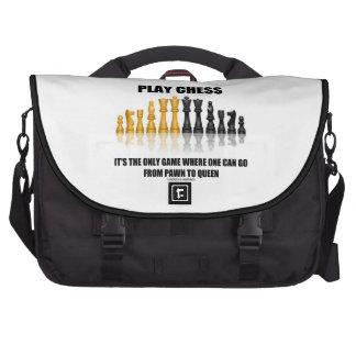 Ajedrez del juego está el único juego donde empeño bolsas para portátil