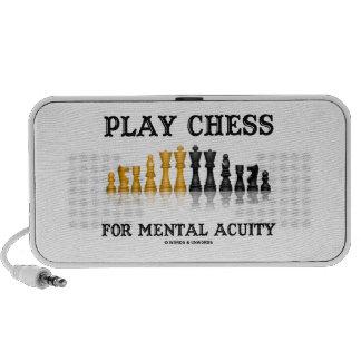 Ajedrez del juego para la acuidad mental (ajedrez  mp3 altavoces