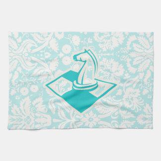 Ajedrez del trullo toalla de mano