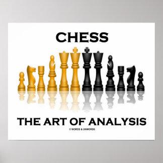 Ajedrez el arte del análisis (juego de ajedrez ref