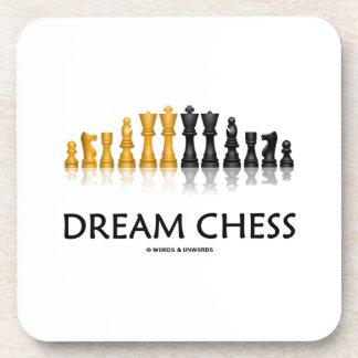 Ajedrez ideal (juego de ajedrez reflexivo) posavasos
