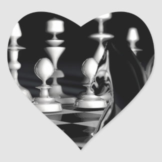 Ajedrez.jpg Heart Sticker