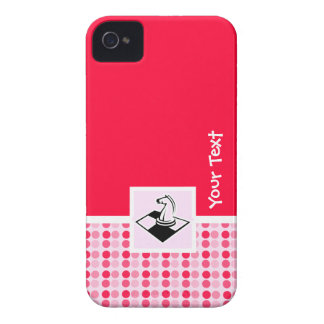 Ajedrez lindo iPhone 4 Case-Mate cárcasa