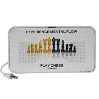 Ajedrez mental del juego del flujo de la experienc mini altavoz